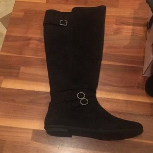 Justfab Black Boots Size 10